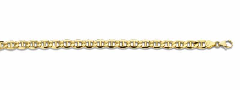 Valkenoog-armband-geelgoud-massief-zilveren-kern-fjory