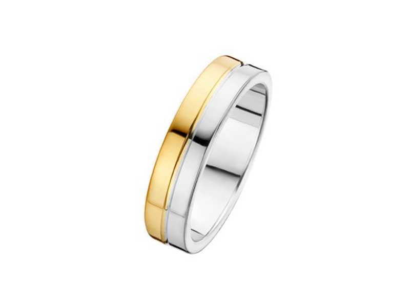 Zilver-met-gouden-ring-strak-model-fjory