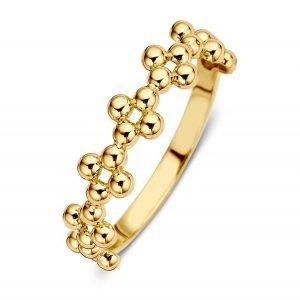 ring-geelgoud-met-bolletjes-RM106875