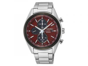 SSC771P1 Seiko herenhorloge rode wijzerplaat
