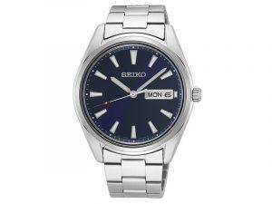 SUR341P1 Seiko herenhorloge blauwe wijzerplaat
