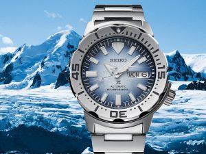 Seiko Prospex Antarctica Monster Save the Ocean Special edition SRPG57K1